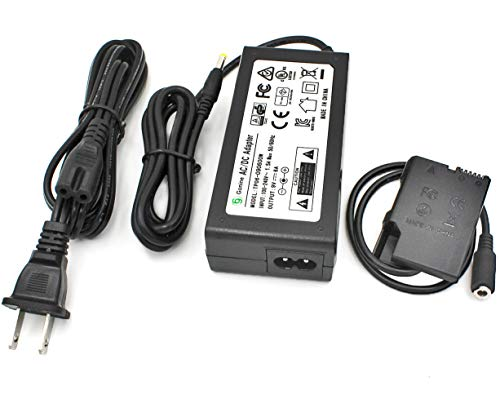 Gonine EP-5A DC Coupler EH-5 AC Power Adapter Kit Replacement Nikon EL-14/ EL-14a Battery Charger for Nikon D3100 D3300 D3400 D5200 D5300 D5500 D5600 Df, Coolpix P7100 P7700 D7800 Digital Cameras.