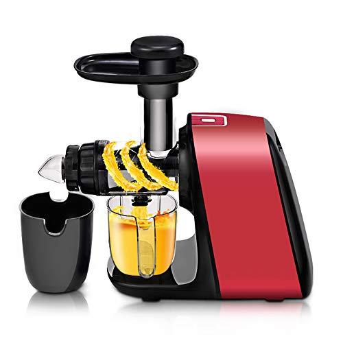 Automatische groente- en fruitpers, Multifunctionele slakken sap separator, Dual-Stage stille motor functie omgekeerd Cold Press Juicer