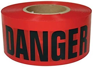 (Box Deal) High-Visibility Red Danger DO NOT Enter Tape 3