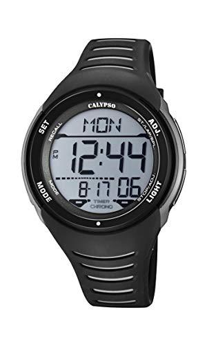 Calypso Reloj Digital para Hombres de Cuarzo con Correa en plástico K5807/6