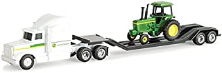ERTL 1/64th John Deere Semi with a Vintage Tractor