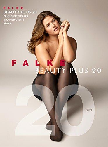 Falke Beauty Plus 20 Dennenkousen, transparante panty voor dames, gelijkmatig, matte look, 20 DEN