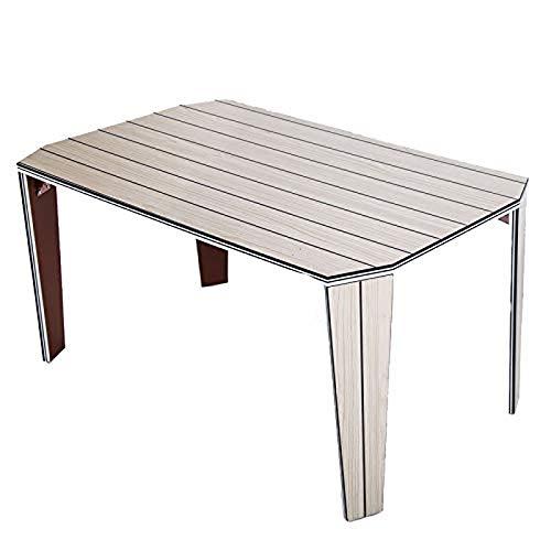 LQRYJDZ Computer Desk Office Desk , Klapptisch Camping-Tisch mit Tragetasche, Abriebfest, PVC wasserdicht, leicht faltbar tragbare Outdoor-Reise-Picknicktisch, Größe: 31,5 * 19,6 * 16,1 Zoll