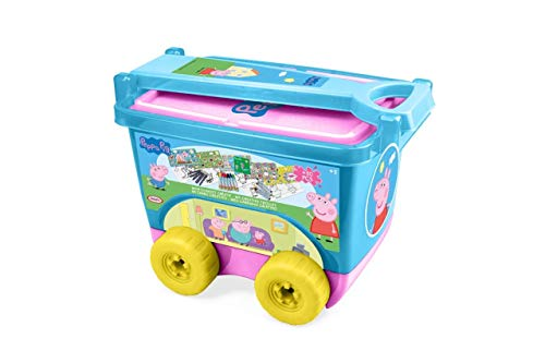 Peppa Pig Trolley Creativo (CPEP257), Multicolor (DARPEJE 1)