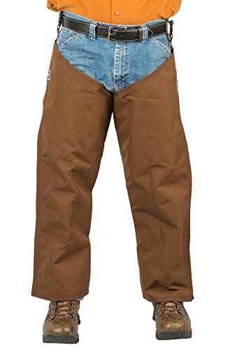 Brush Buster, Briarproof Protector Chaps, 1000 Denier, Unlined, Made in U.S.A. (XL-30/30)