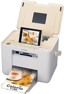 EPSON Colorio me コンパクトフォトプリンタ 3.6型TFTカラー液晶 高速赤外線通信標準搭載 Silky Cream E-530C