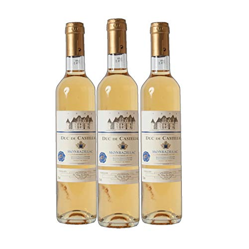 Duc de Castellac - Monbazillac AC Dessertwein Frankreich süß 2018 lieblich (3x 0.75 l)