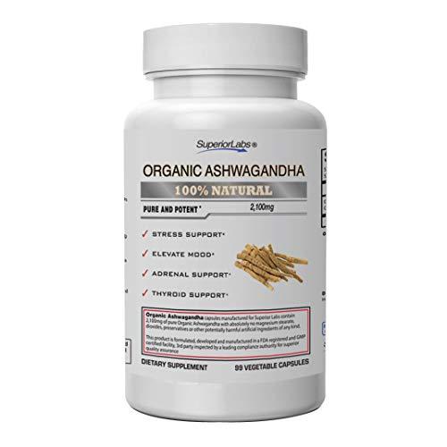 Superior Labs - Organic Ashwagandha…