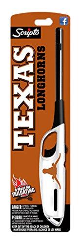 Scripto NCAA Texas Longhorns Multi-Use Lighter, One Size, White