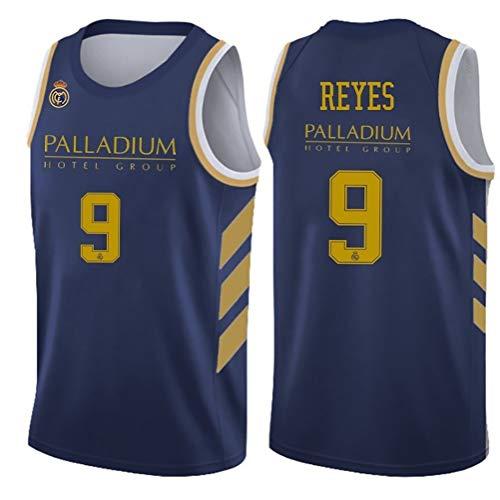 Facundo Campazzo, Rudy Fernández, Sergio Llull Camiseta de Baloncesto de los Hombres, Jerseys sin Mangas Alero del Real Madrid Camiseta (Color : 8, Size : XL)