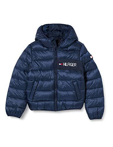 Tommy Hilfiger Jungen Essential Padded Jacket Jacke, Blue, 92