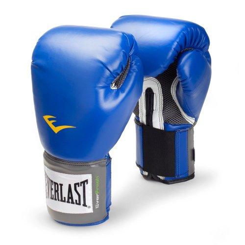 Price comparison product image Everlast Pro Style Boxing Training Gloves (Blue,  8 Oz)
