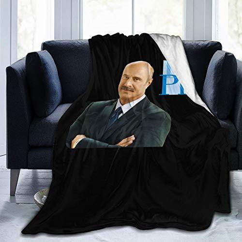 SteveMarke Dr Phil Ultra Soft Micro Fleece Blanket Warm Throw Blanket Digital Printed 60'x50'