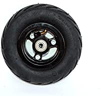 Rueda 6x2 de la rueda de la vespa de 6 pulgadas con neumático del aire o eje sólido del metal del neumático con 608 transportes Rueda 8m m del carro de la carretilla del (wheel)