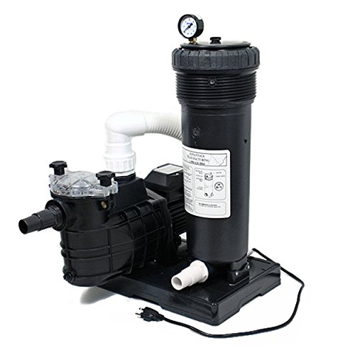 Cartridge Filter System for 50 Sq Ft with Energy Saving 1hp Pump