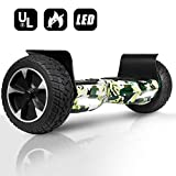 EPCTEK Hoverboard for Adult, 8.5 inch Self Balancing Off Road Hoverboard with LED Lights - UL2272 Certified All Terrain Hoverboards