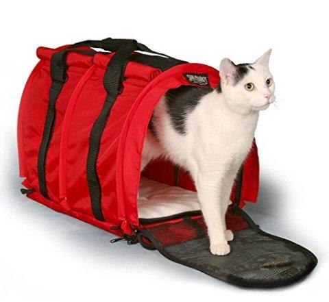STURDI PRODUCTS StabildiBag Transporttasche für Haustiere, extragroß, flexibel, X-Large, rot