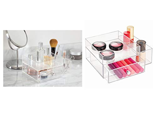 InterDesign 化粧品 小物 収納ボックス オーガナイザー Clarity クリア 39360EJ