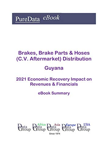 Brakes, Brake Parts & Hoses (C.V. Aftermarket) Distribution Guyana Summary: 2021 Economic Recovery Impact on Revenues & Financials (English Edition)