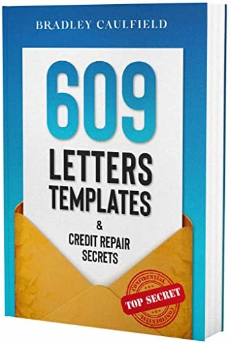 609 Letter Templates Credit Repair Secrets Fix Your Credit Score Fast and Legally 609 Credit product image