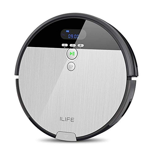ILife V8s Robotic Vacuum Cleaner with Dry & Water Tank Mopping