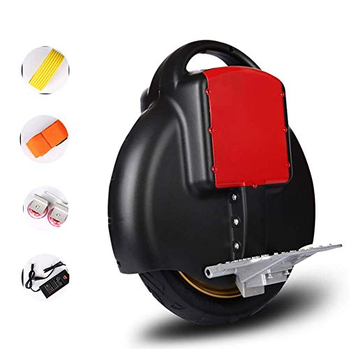 Monociclo eléctrico, Smart Balance Car Scooter eléctrico para Adultos Soporte Carga Seguridad 120 kg con Luces LED para Unisex Adult Travel Park School