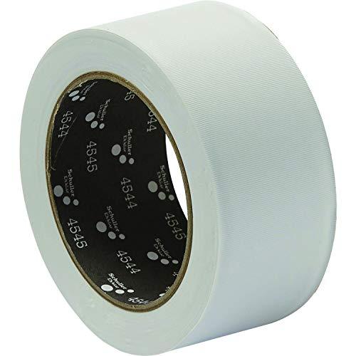 SCHULLER bouwtape | PVC MASK Q | wit | UV-bestendig | 50 mm x 33 m | 1 rol