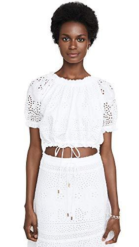 Melissa Odabash Women's Francesca Top, White, Medium