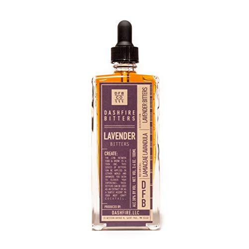 Dashfire Lavender Cocktail Bitters 100ml Bottle