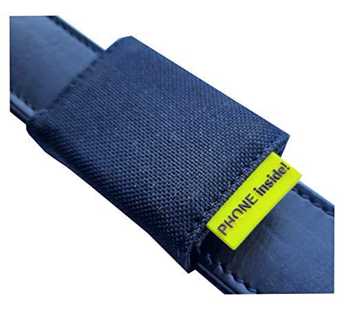 josi.li Funda de nailon para Tracktasche GPS 51 x 41 x 15 mm (cierre de gancho de metal, hasta 40 mm de ancho)