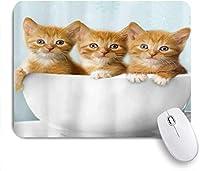 マウスパッド 個性的 おしゃれ 柔軟 かわいい ゴム製裏面 ゲーミングマウスパッド PC ノートパソコン オフィス用 デスクマット 滑り止め 耐久性が良い おもしろいパターン (かわいいチワワ子犬菊頭クローズアップ花動物野生動物の休日)