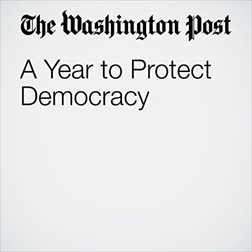 A Year to Protect Democracy copertina