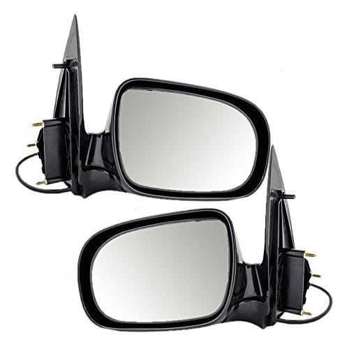 Aftermarket Replacement Pair Power Side View Mirrors Compatible with Venture Relay Silhouette Montana/SV6 Trans Sport Uplander Van