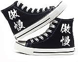 ADIS Re: La vida en otro mundo desde cero zapatos de cosplay zapatos de lona de moda cómodos zapatos casuales para hombres y mujeres-D_3UK