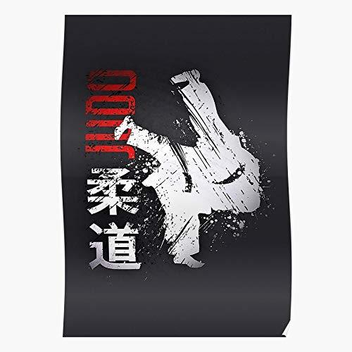 Wolvpower Muay Judo Kickboxing Taekwondo Martial Thai Kick Boxing Das eindrucksvollste und stilvollste Poster für Innendekoration, das derzeit erhältlich ist