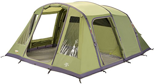 Vango Odyssey Inflatable Family Tunnel Tent, Epsom Green, Airbeam 600