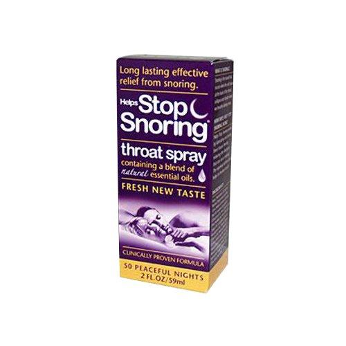 Essential Health Helps Stop Snoring Throat Spray, 2 Fluid Ounce