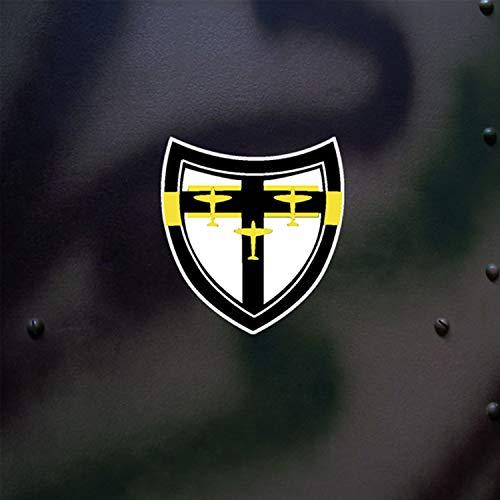 Stickers jG27 blason jagdgeschwader 27 aériennes tagjagdgeschwader stickers dAK pour messerschmitt 109, bf-focke wulf fw 190 x 5 cm #a666