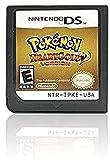 MRZJ Pokémon Corazón dorado, versión Soul Silver versión, versión platino, versión diamante, versión de perla, tarjeta de juego para NDS 3DS DSI DS (versión de reproducción) HerzgoldVersion
