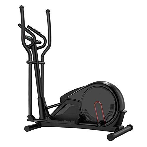 Ellipsentrainer Ellipsentrainer für den Heimgebrauch Life Fitness Bike mit Fywheel Magnetwiderstand Hochleistungs-Extra-Large-Pedal & LCD-Monitor Leise glatt