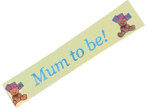 Alandra Party Écharpe avec Logo brodé « Mum to Be », Unisexe, Taille Unique