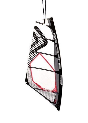Vela de windsurf Ambientador de árbol Aroma BLACK WATER | vélica deodorante per Auto (Severne Freek)