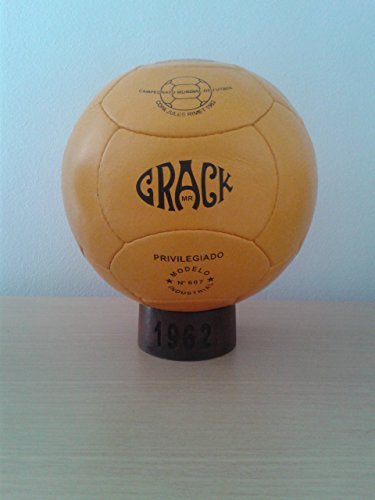 Balon Oficial Futbol del Mundial DE Chile 1962. Modelo Crack.