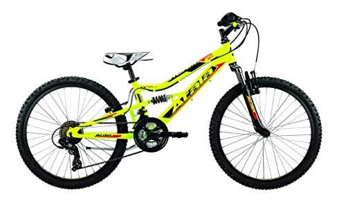 Atala Nuova MTB 2020 Mountain Bike Storm VB 21V Colore Giallo Neon - Nero