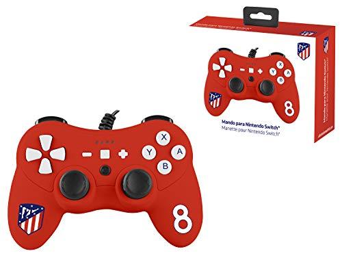 Mando controller para Nintendo Switch, con cable, Atlético De Madrid