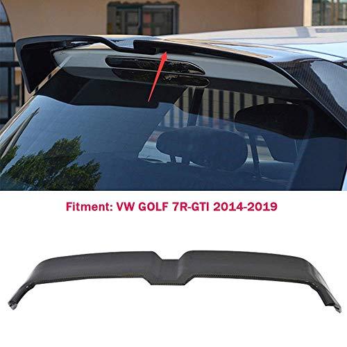 XTT Geeignet für Volkswagen/Volkswagen Golf 7/7.5 VII 7R-GTI 2014-2019 ABS Kohlefaser Design Auto oberen Flügel Heckspoiler