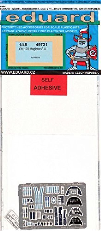 EDU49721 1 48 Eduard Farbe PE - CM.170 Magister Detail Set (for use with the AMK kit) MODEL KIT ACCESSORY by Eduard