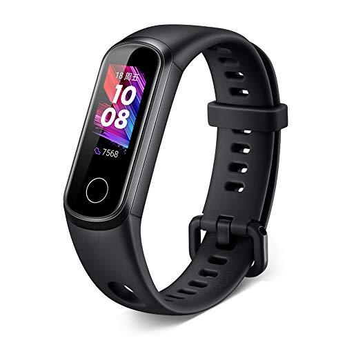 YUZITING Honor Band 5i Fitness Tracker, Smartwatch Wasserdicht mit Pulsmesser Schrittzähler Uhr für Damen Herren Fitness Uhr Pulsuhr SMS SNS Messgeräte