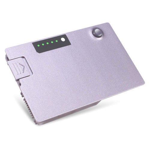DELL 6-Cell Battery 53W/HR Latitude D500/D505/D510/D600/D610 Lithium-ION (Li-ION) Batterie Rechargeable - Batteries Rechargeables (53 Wh, Lithium-ION (Li-ION), Argent)