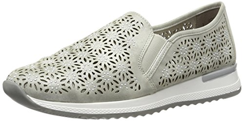 Remonte Damen R7005 Slipper, Grau (Grey / 40), 43 EU